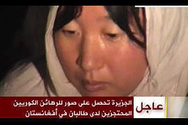Taliban says Korean hostage killed