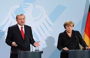 Erdogan meets Merkel in Berlin