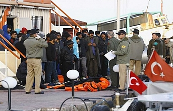 Over 200 irregular migrants held in Turkey