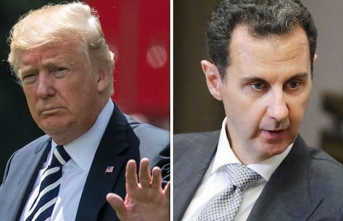 Trump denies claim he sought Assad's assassination