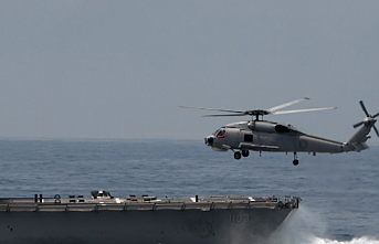 Several hurt in chopper crash on US carrier in Pacific