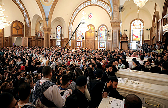Egypt Copts bid farewell to victims of monastery attack