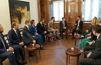 Russian delegation meets Assad in Damascus