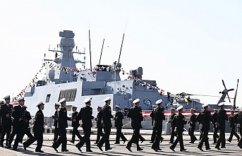 Turkish National warship Burgazada delivered to the Navy