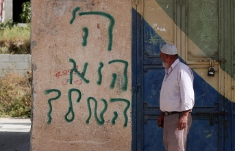 Jewish settlers vandalize mosque in West Bank
