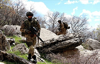 Turkish forces destroy 6 PKK terrorist shelters