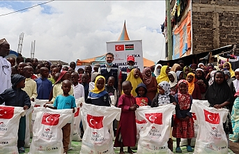 Turkey provides needy Kenyans with food, hygiene kits