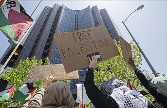 Nationwide US protests in support of Palestine near Israeli missions