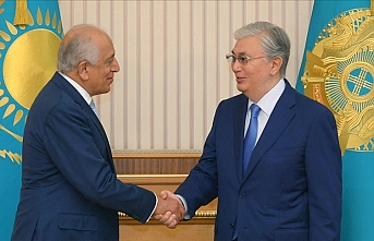 Kazakh president meets US special representative on Afghan peace