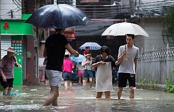 Severe flooding in central China kills 12