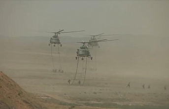 Chinese military holds massive drill in Tibet