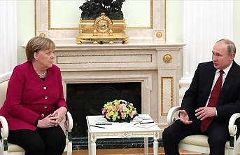 Russian president, German chancellor meet in Moscow