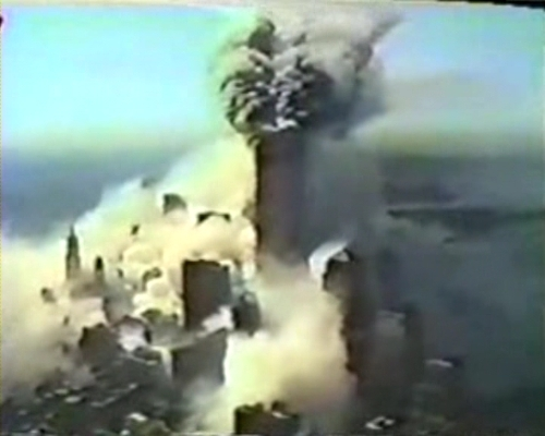 Police video of 9/11 attacks surfaces / VIDEO