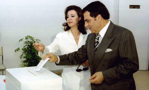Tunisia's Ben Ali, wife found guilty of theft