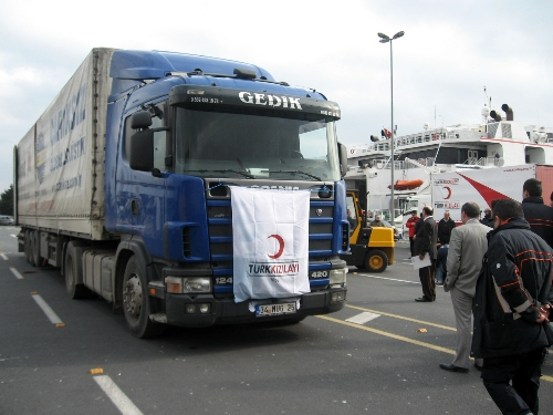 More Turkish aid arrives in Gaza