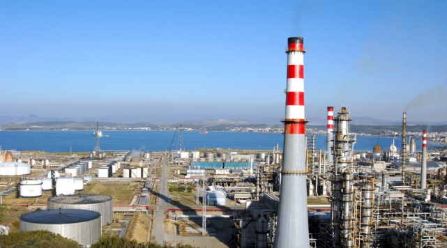 Turkish energy giant opens $3 bln. refinery facility