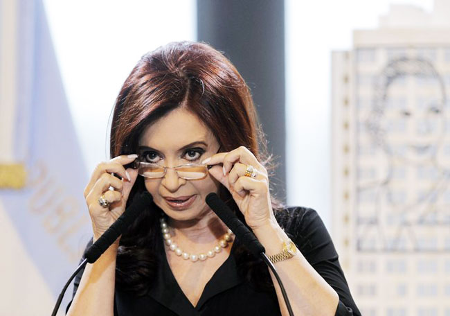 Argentina to purge disloyal spies from intelligence agency