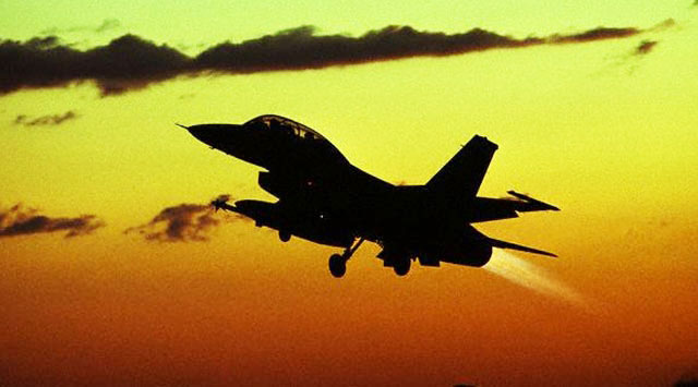 8 civilians killed by Libyan air strike