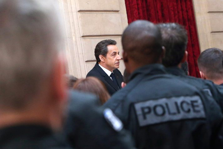 Four arrested in French opposition party funding probe