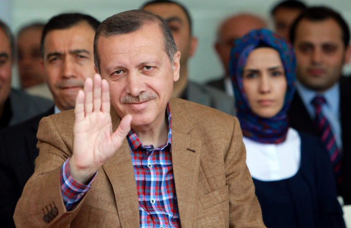 Turkish prime minister goes to Bodrum for vacation