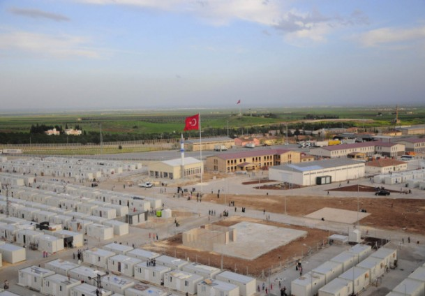 Turkey sets up fifth container city in Syria