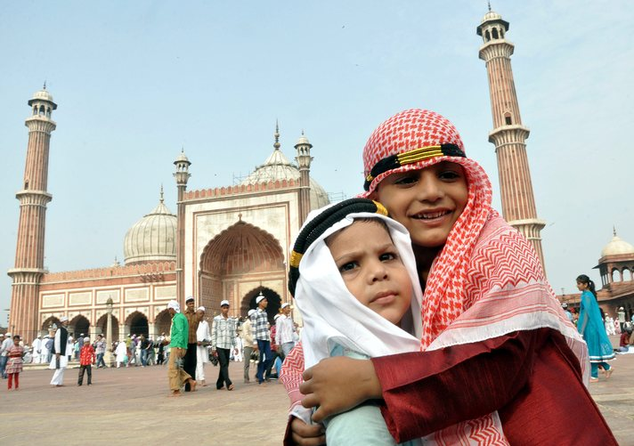 In pictures: Eid al-Fitr across the globe