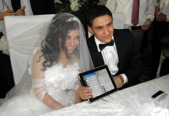 Turkish mayor performs 'first Twitter marriage'