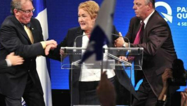 Quebec separatist party leader resigns after big defeat