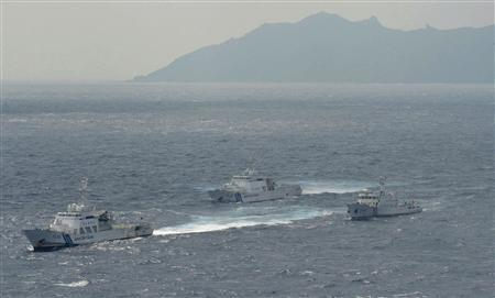 Japan says spots Chinese vessels near disputed islands