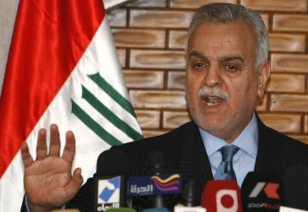 Fugitive Iraqi VP criticises U.S. for 'focusing only ISIL'