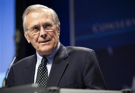 German rights center files complaint against Tenet, Rumsfeld