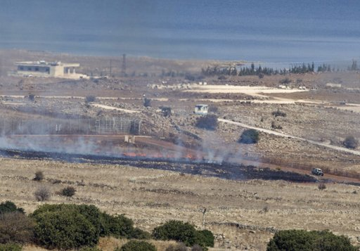 Israel shells Syrian site after Golan attack