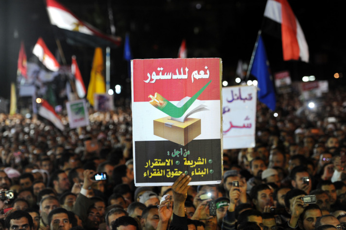 Egypt Expats to vote in constitutional referendum