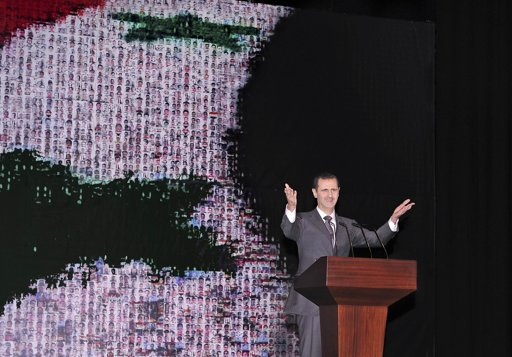 Assad set to extend his power amid Syrian war and theatre