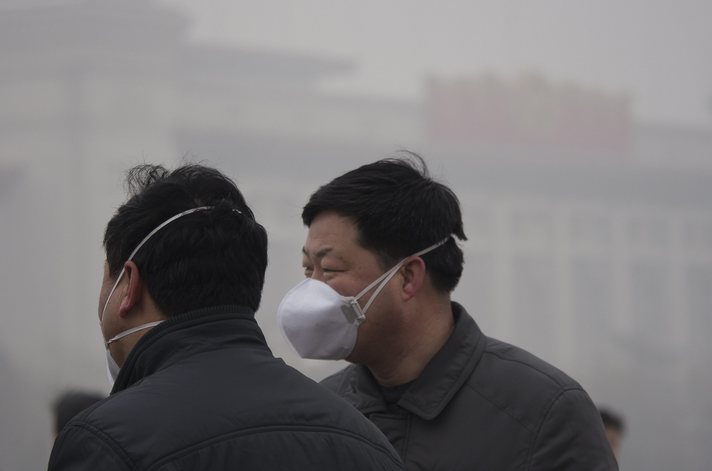 90% of air in China unsafe for breathing