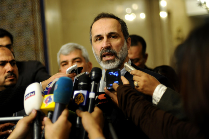Syria opposition retreats from Rome boycott