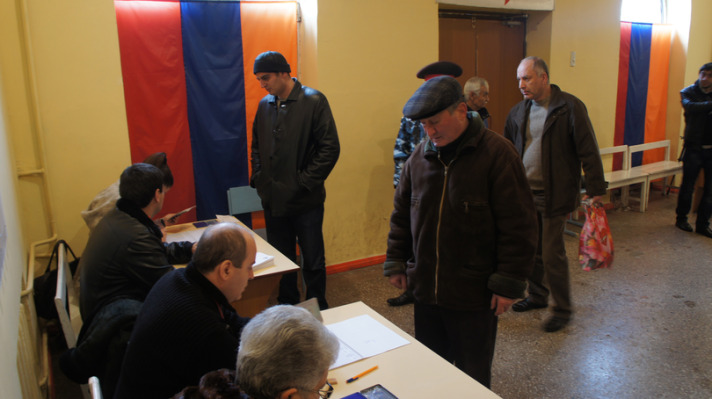 Armenians head to polls for parliamentary elections