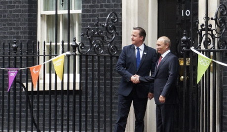 UK's Cameron to talk Ukraine with Russia's Putin