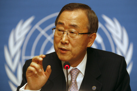 UN chief pushes for revival of Israel-Palestine talks