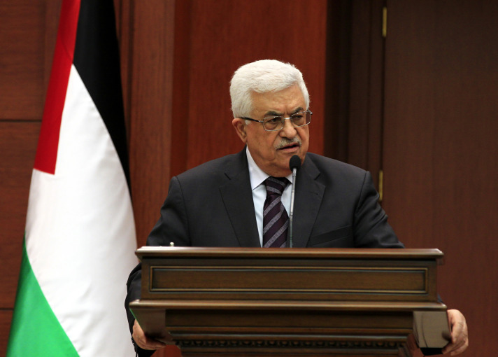 Abbas censures 'racist' Netanyahu comments