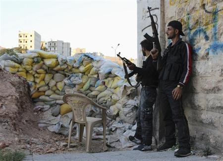 Syrian forces capture town near chemical arms site