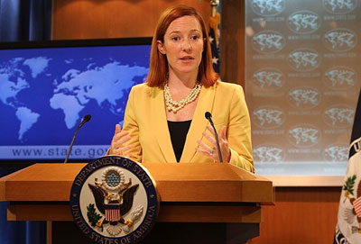 Psaki calls for unified Syria following PYD declaration