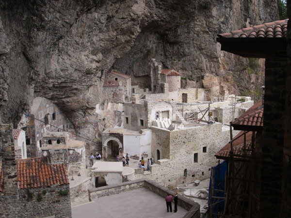 Cliff face monastery to welcome Christians to Turkey