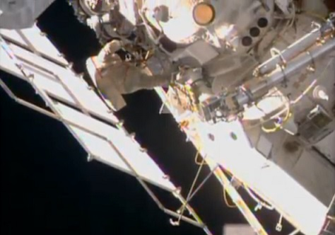 Astronauts back on Earth after six months in space
