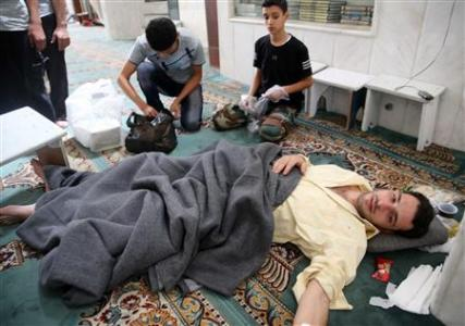 Syrian opposition alleges new poison gas attack