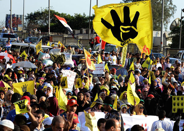 Global protests against Egypt military coup to be held Oct. 11
