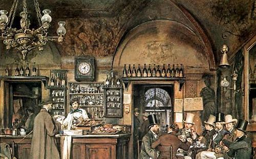Europe's first coffee house and Sadullah Pasha