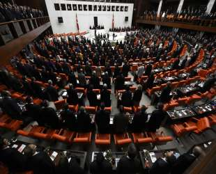 Turkish parliament accepts first part of security bill
