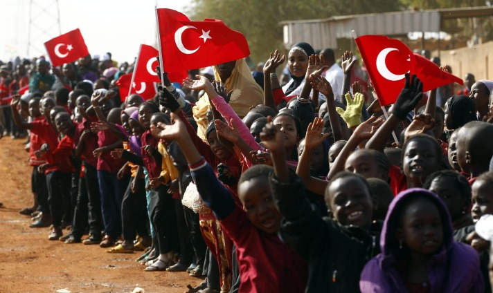 Turkey increases co-operation with Africa