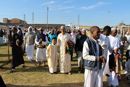 Middle East turmoil dominates Eid prayers in South Africa
